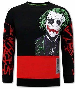 Tony Backer Joker sweatshirt Herren - Schwarz