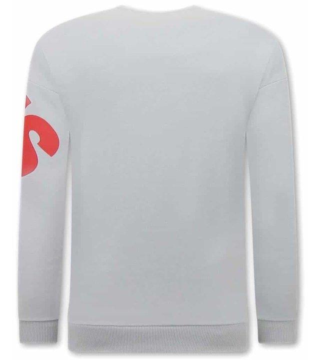 Tony Backer  Delicious Sweatshirt Herren - Grau