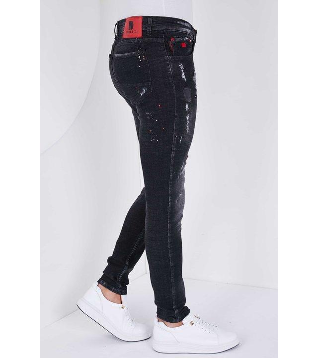 True Rise Slim jeans Herren -5501B- Schwarz
