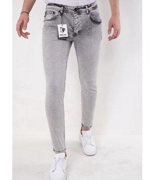 True Rise Herren slim fit Jeans -2610 - Grau