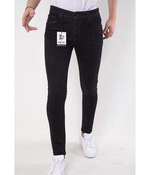 True Rise Männer slim fit jeans - 5509 - Schwarz