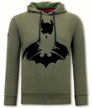 Local Fanatic Batman Männer Hoodie - Grün