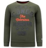 Local Fanatic Conor McGregor Herren Sweatshirt - Grün