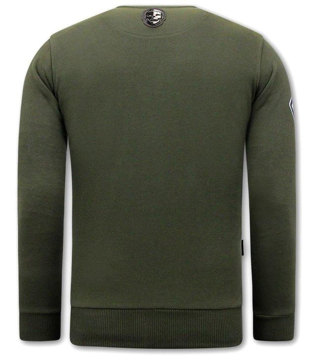 Local Fanatic Herren Sweatshirt Nasa - Grün