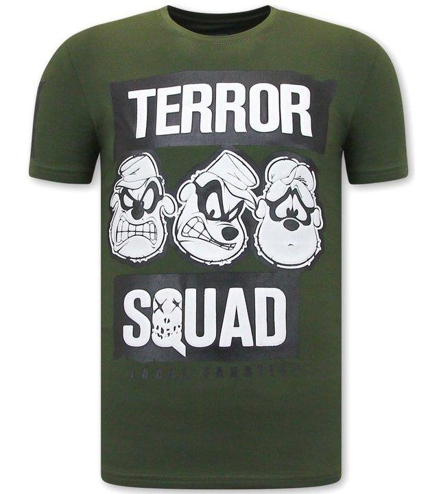 Local Fanatic Beagle Boys Squad Fun shirts Herren - Grün