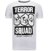 Local Fanatic Beagle Boys Squad Fun shirts Herren - Weiß