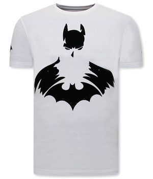 Local Fanatic T shirt Männer Batman Print - Weiß