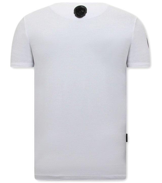 Local Fanatic The Notorious Mcgregor Herren  T Shirt UFC - Weiß