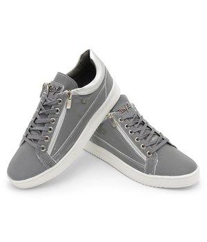 Cash Money Sneaker Männer Reflect Grey White - CMS97 - Grau