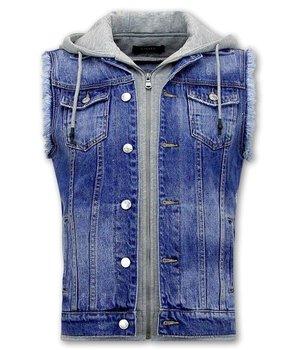 Enos Jeansweste Für Männer - RJ9103 -  Blau