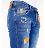Local Fanatic Stretch Shorts Herren - 1049 - Blau
