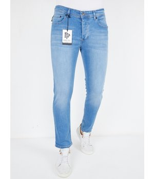 True Rise Jeans Günstig Online Kaufen - A53.B - Blau