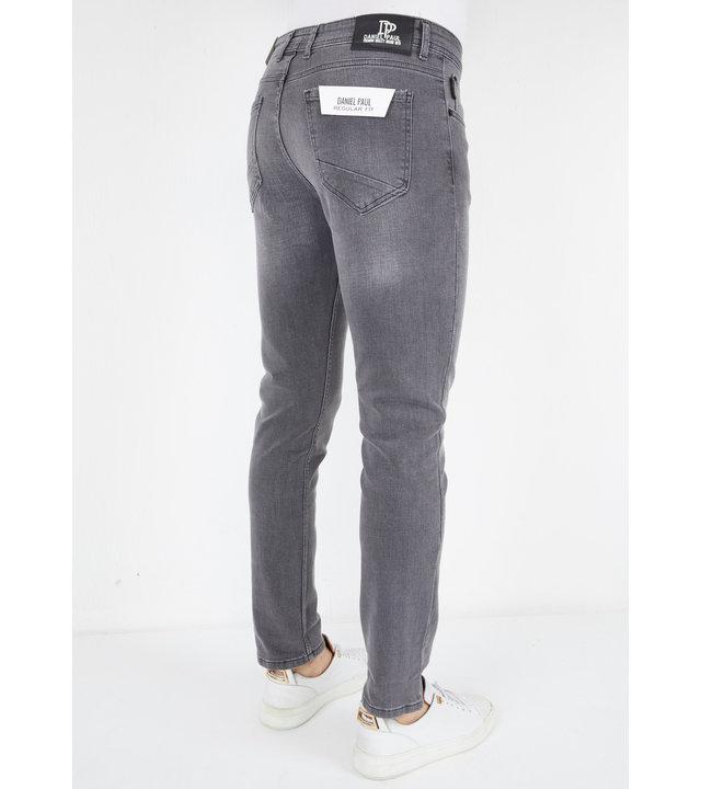 True Rise Stretch Jeans Männer - A61.G - Grau