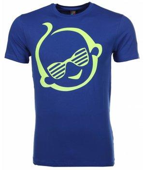 Mascherano T Shirt Herren - Zwitsal - Blau