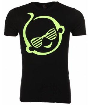 Mascherano T Shirt Herren - Zwitsal - Schwarz