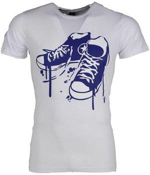 Mascherano T Shirt Herren - Sneakers - Weiß