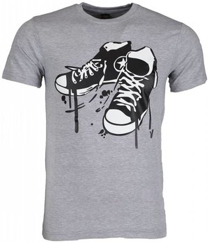 Mascherano T Shirt Herren - Sneakers - Grau