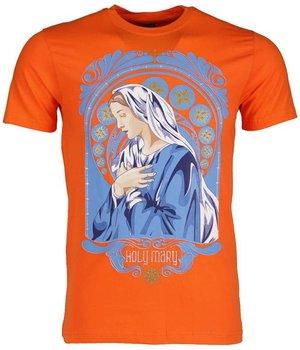Mascherano T Shirt Herren - Holy Mary - Orange