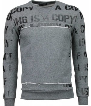 Maximal Copying - Sweatshirt - Grau