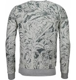 Black Number Park&Cash - Sweatshirt- Grau