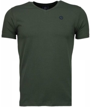 Local Fanatic Basic - T Shirt Herren - Armee Grün