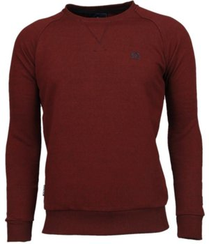 Local Fanatic Basic - Sweatshirt - Bordeaux