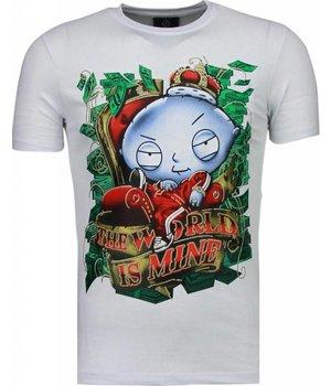 Mascherano Rich Stewie - T Shirt Herren -Weiß
