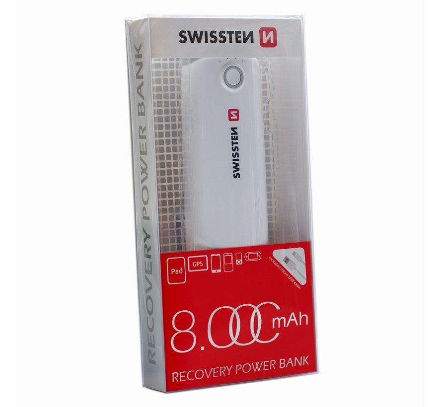 Swissten Recovery Powerbank 8000mAh