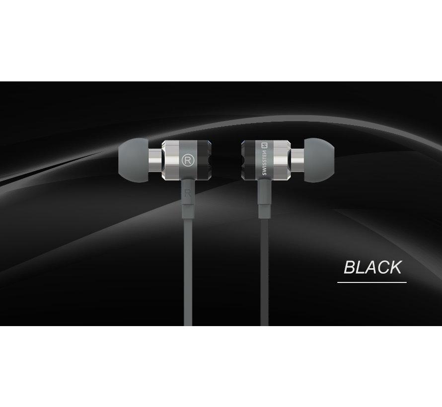 Swissten Headset  Superbass YS900 Zwart