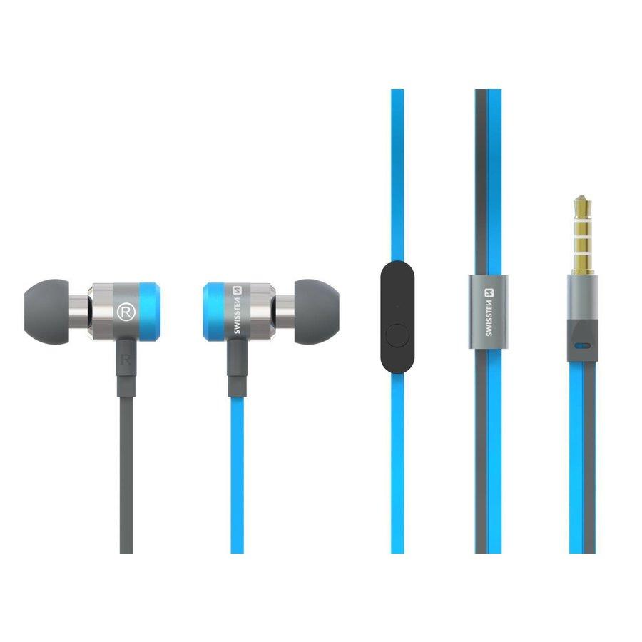 Swissten Headset  Superbass YS900 Blauw-1