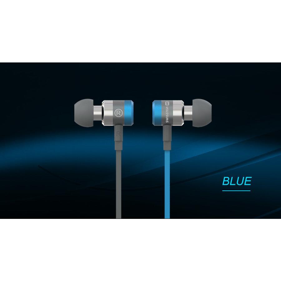 Swissten Headset  Superbass YS900 Blauw-4