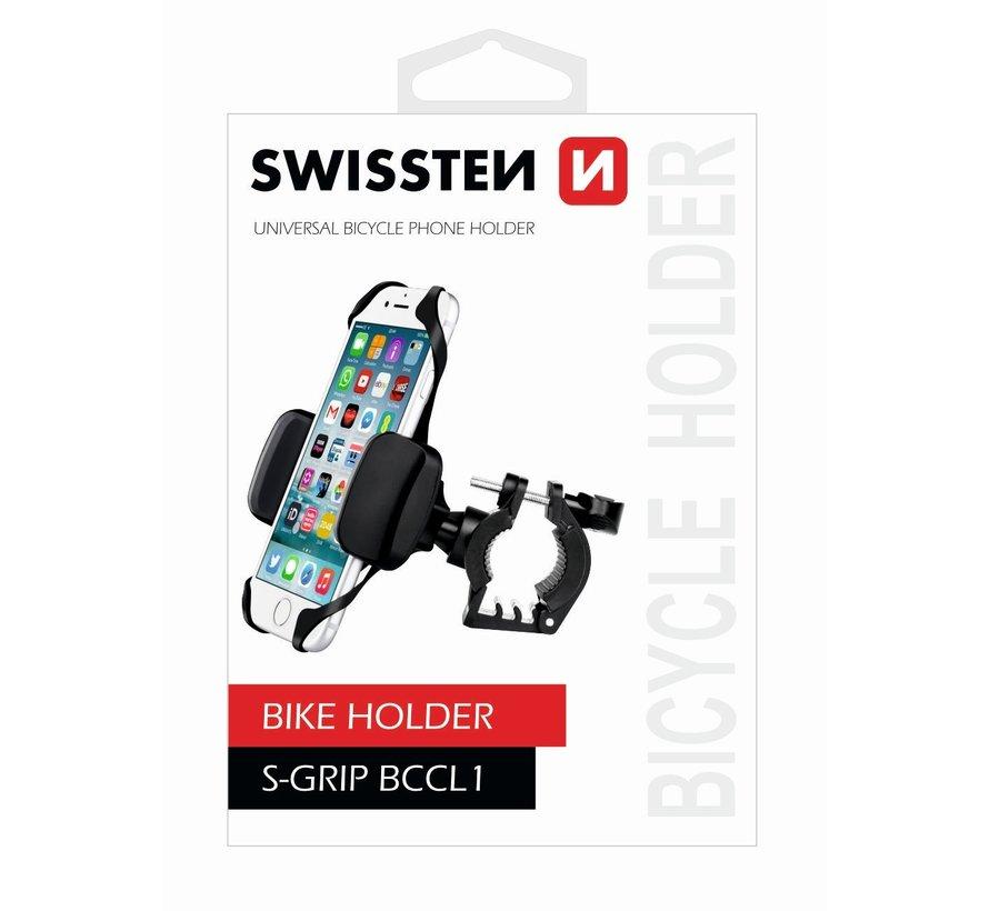 Swissten Telefoonhouder Fiets S-Grip BCCL1