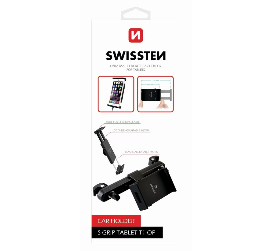 Swissten Tablethouder S-Grip T1-OP