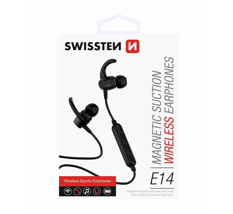 Swissten Bluetooth Oordopjes Active Zwart