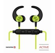 Swissten Swissten Bluetooth Oordopjes Active Limoen