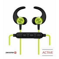 thumb-Swissten Bluetooth Oordopjes Active Limoen-1