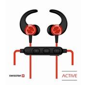 Swissten Swissten Bluetooth Oordopjes Active Rood