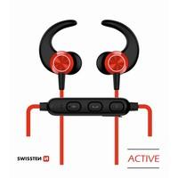 thumb-Swissten Bluetooth Oordopjes Active Rood-1