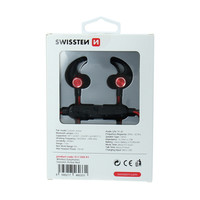 thumb-Swissten Bluetooth Oordopjes Active Rood-3