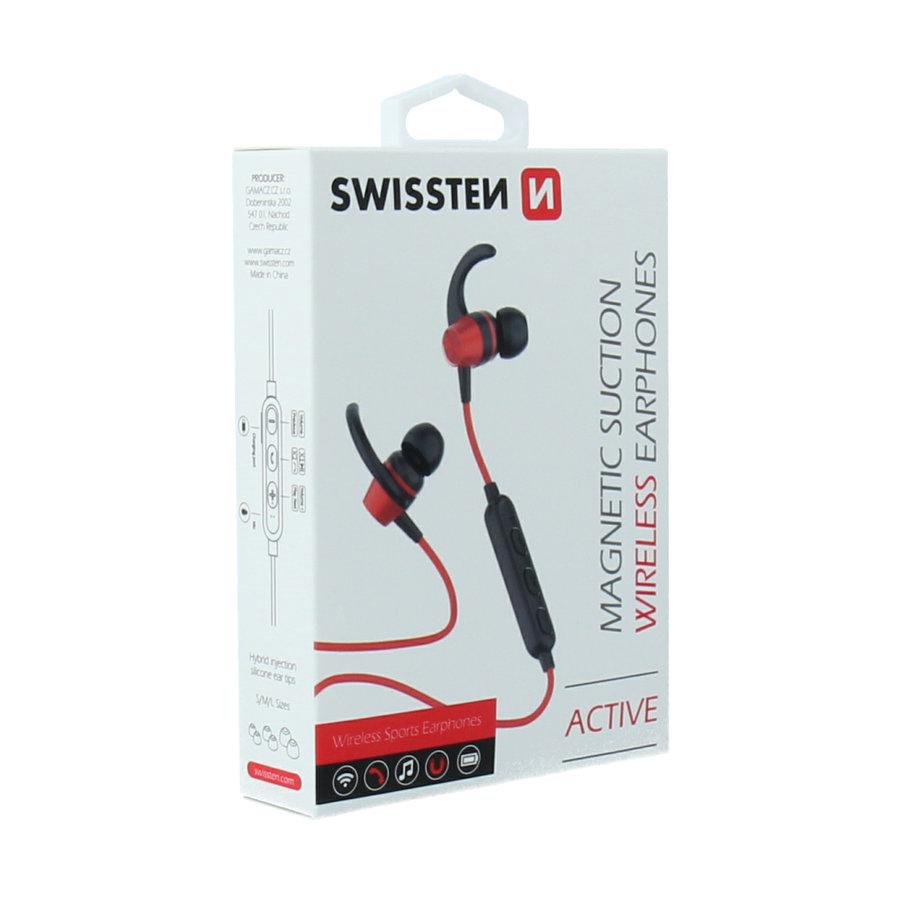 Swissten Bluetooth Oordopjes Active Rood-5
