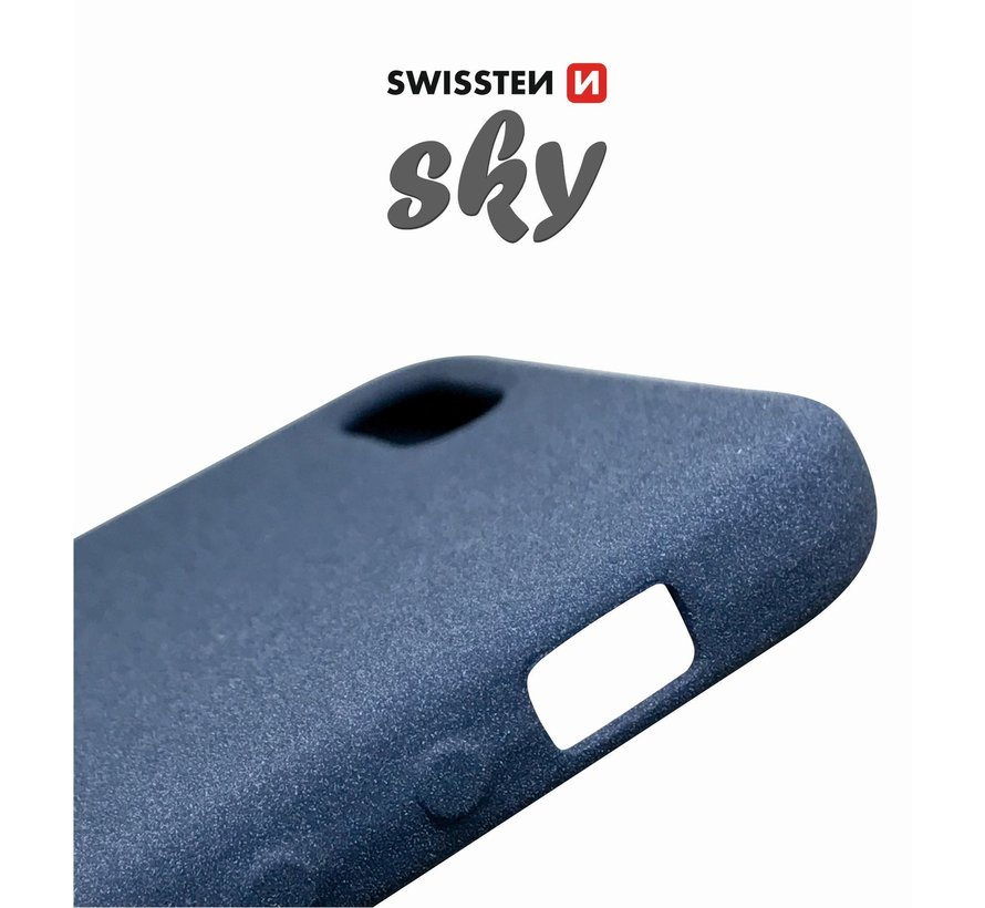 Swissten Sky Case Apple iPhone XS/X Blauw