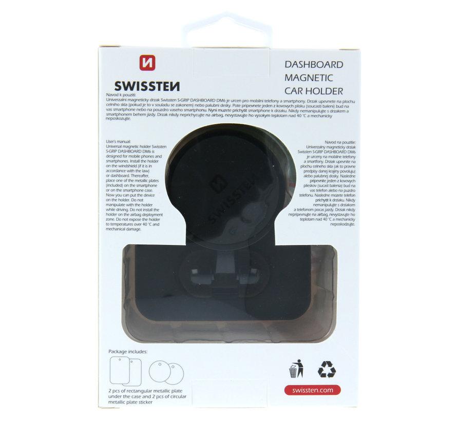 Swissten Telefoonhouder Auto Magneet S-Grip Dashboard Dm6