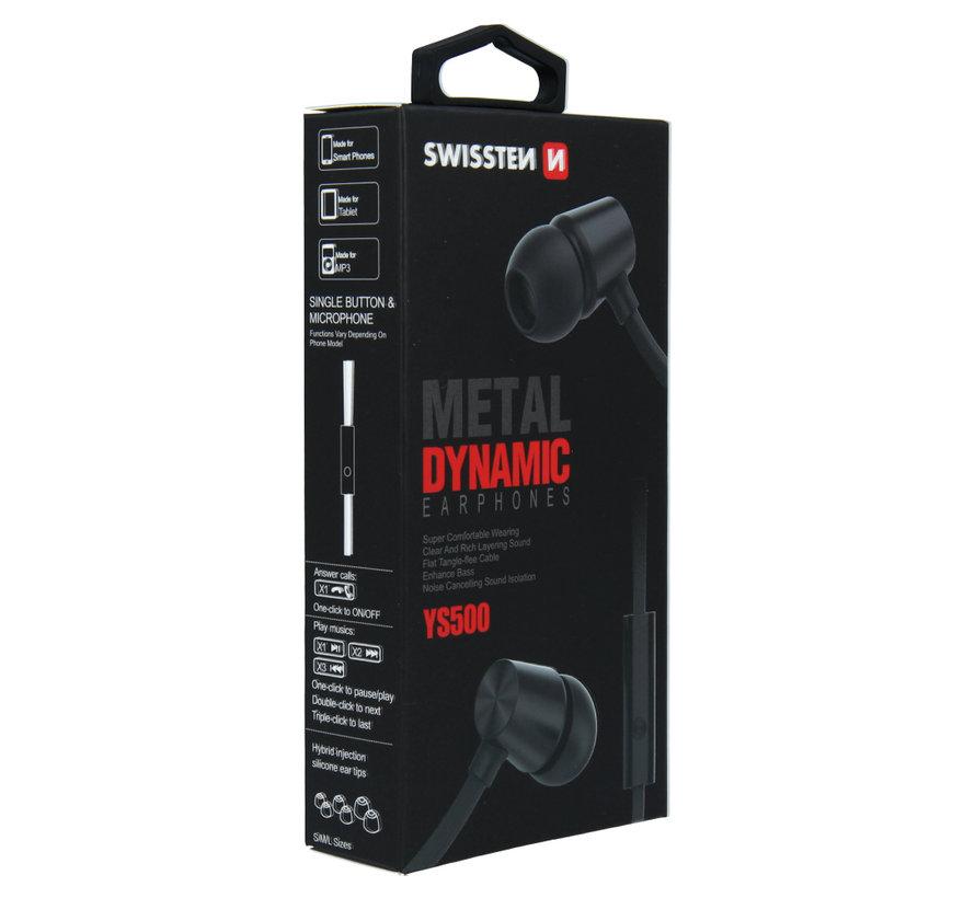 Swissten Headset Dynamic YS500 Zwart