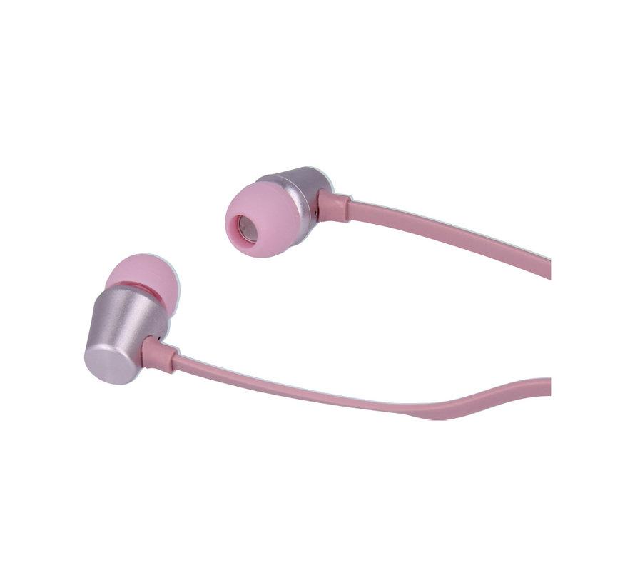 Swissten Headset Dynamic YS500 Roze/Goud