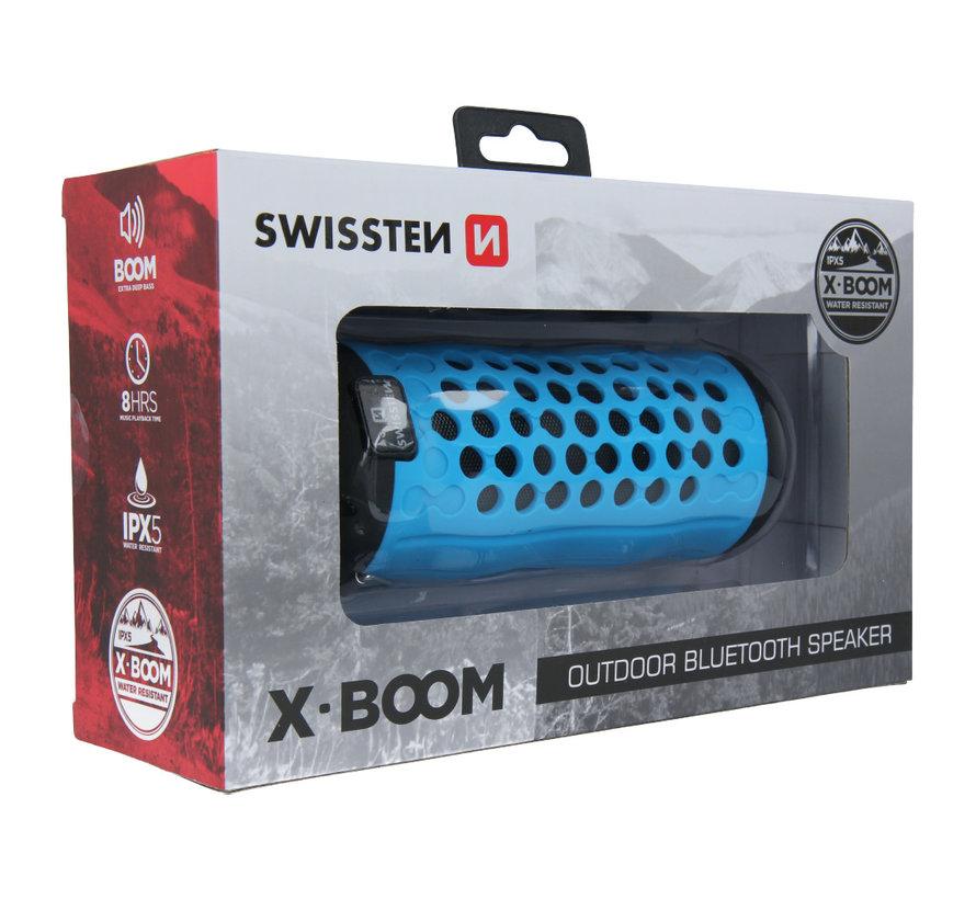 Swissten Bluetooth Speaker X-Boom Blauw