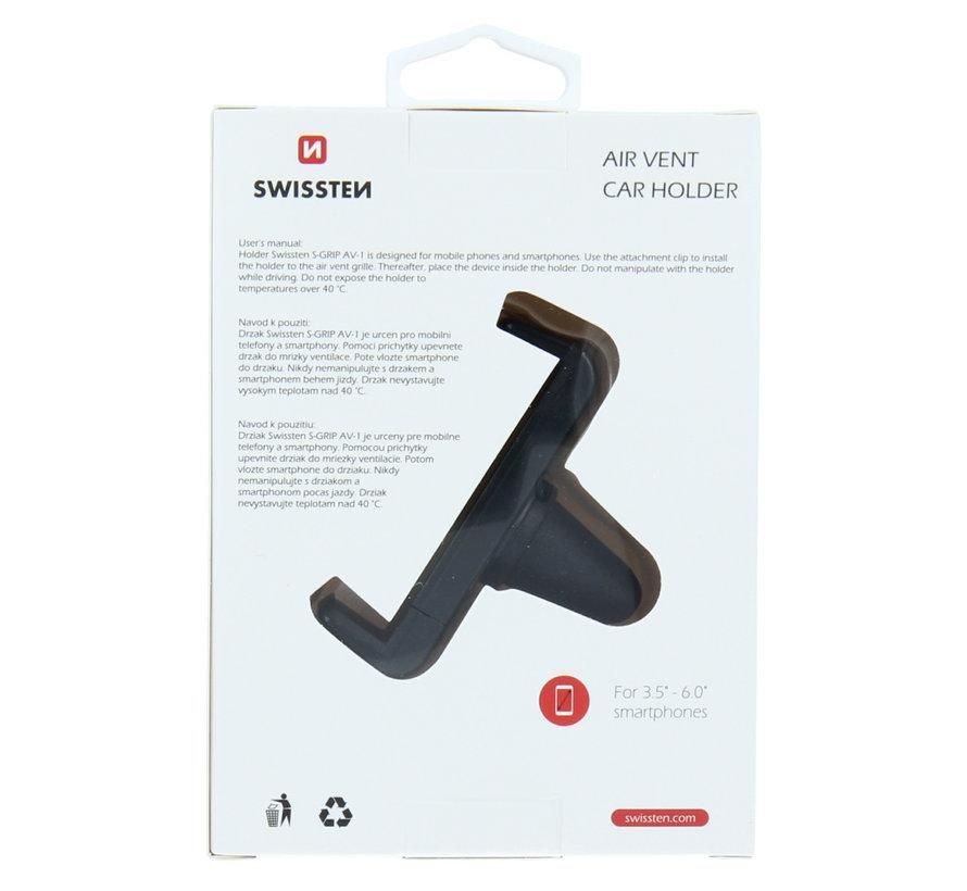 Swissten Telefoonhouder Auto Ventilatierooster S-Grip AV-1