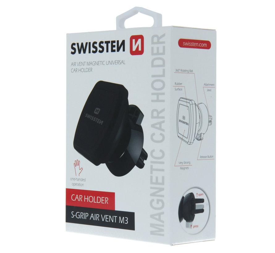 Swissten Telefoonhouder Auto Ventilatierooster S-Grip  M3