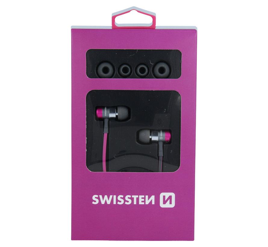 Swissten Headset  Superbass YS900 Roze