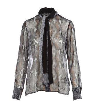 NÜ Denmark NU Denmark  slangenprint blouse 6111-40