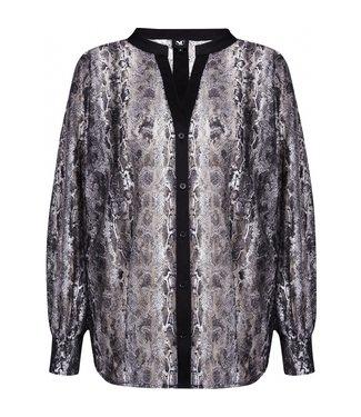 NÜ Denmark NU Denmark slangenprint blouse Bechet 6228-40